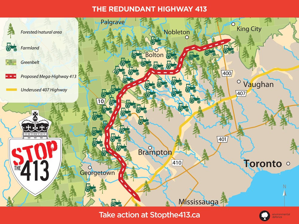 NDP will scrap sprawl-inducing GTA West Highway plan if elected in 2022