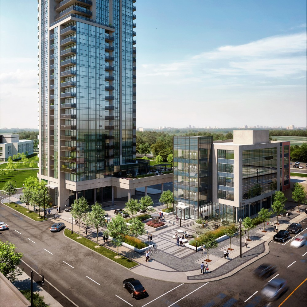 New condo project represents the slow shift away from Brampton's sprawling identity