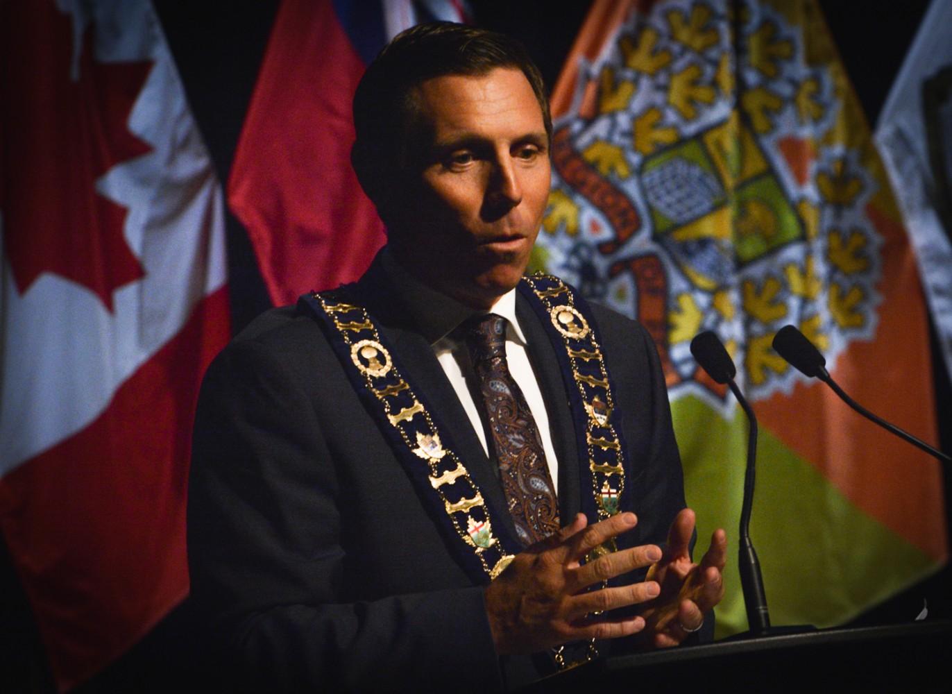 New Mayor Patrick Brown's inaugural address laser-focused on boosting Brampton's economy