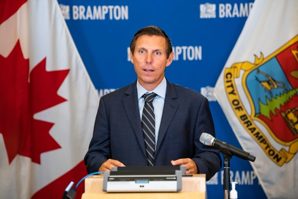 Patrick Brown dodging questions about his spending & disturbing conduct inside City Hall