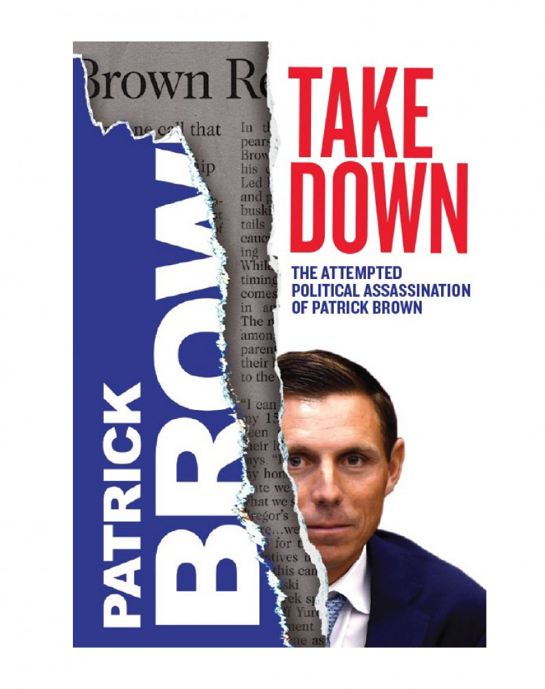 Patrick Brown's raw, candid account of events surrounding his rise and fall and rise captured in tell-all book