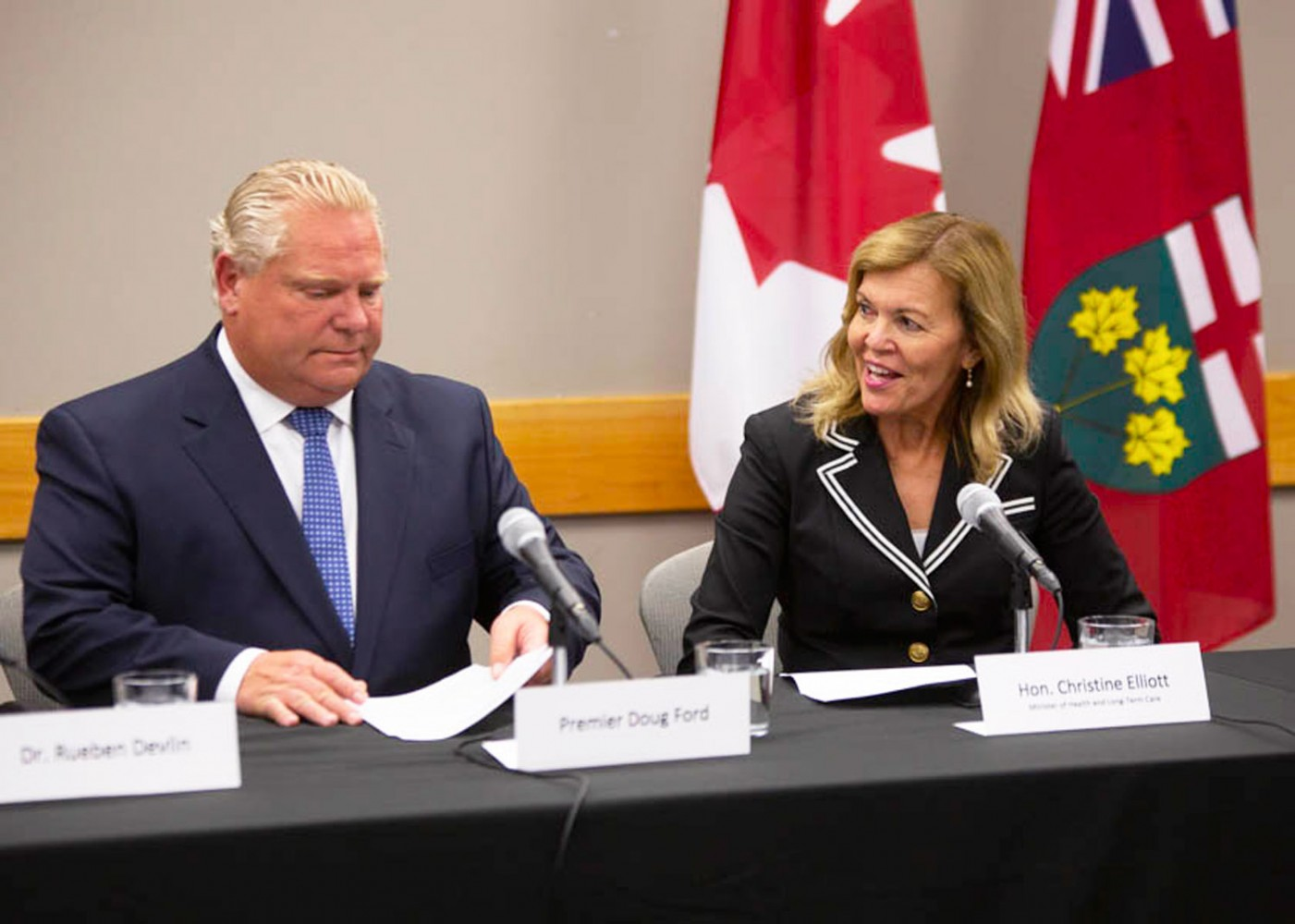 Premier Doug Ford's healthcare announcement offers next to nothing for Brampton
