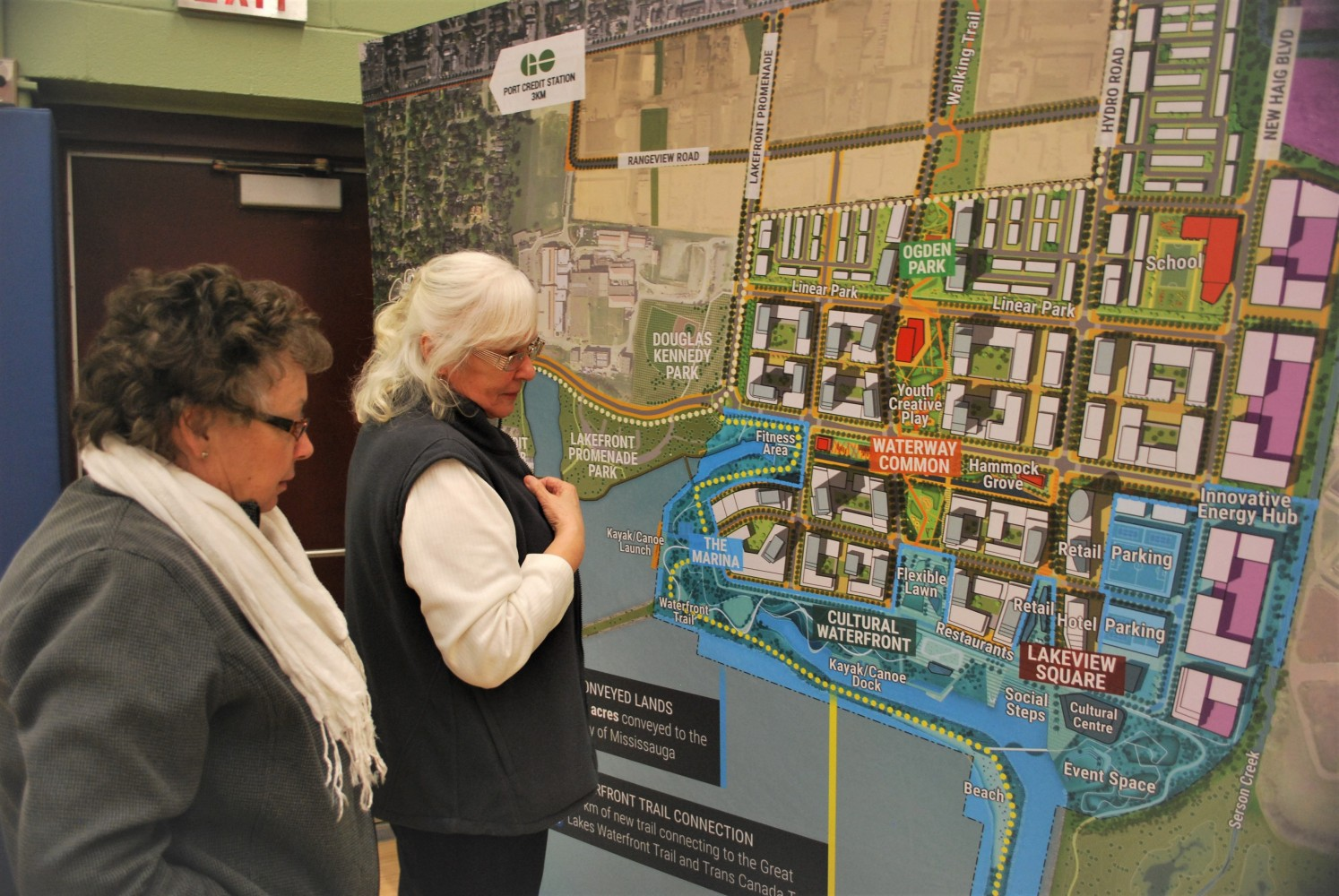 Residents still not convinced about benefits of Lakeview Village development