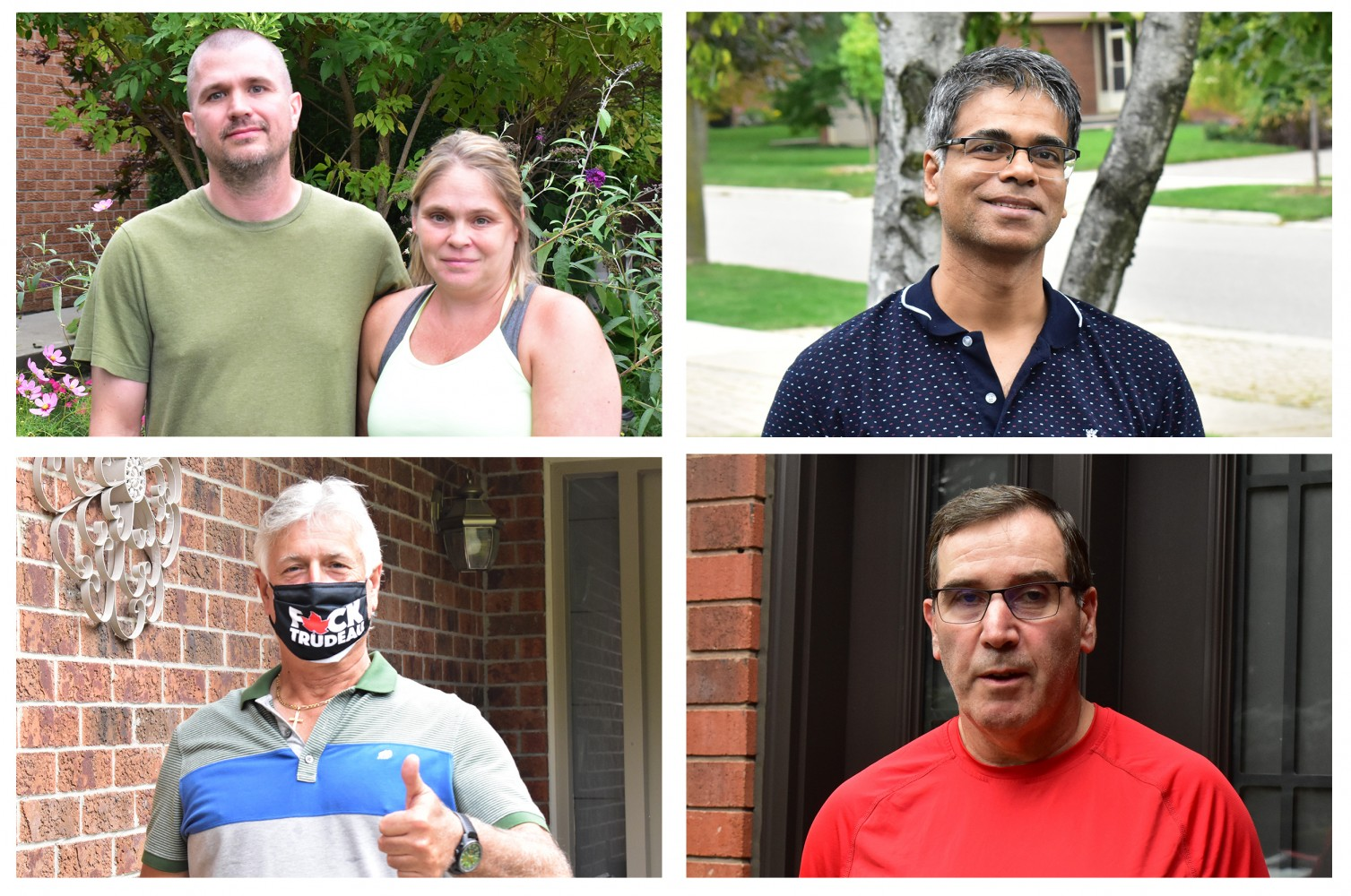 Residents visited in one Mississauga neighbourhood say little is known about local candidates who are MIA