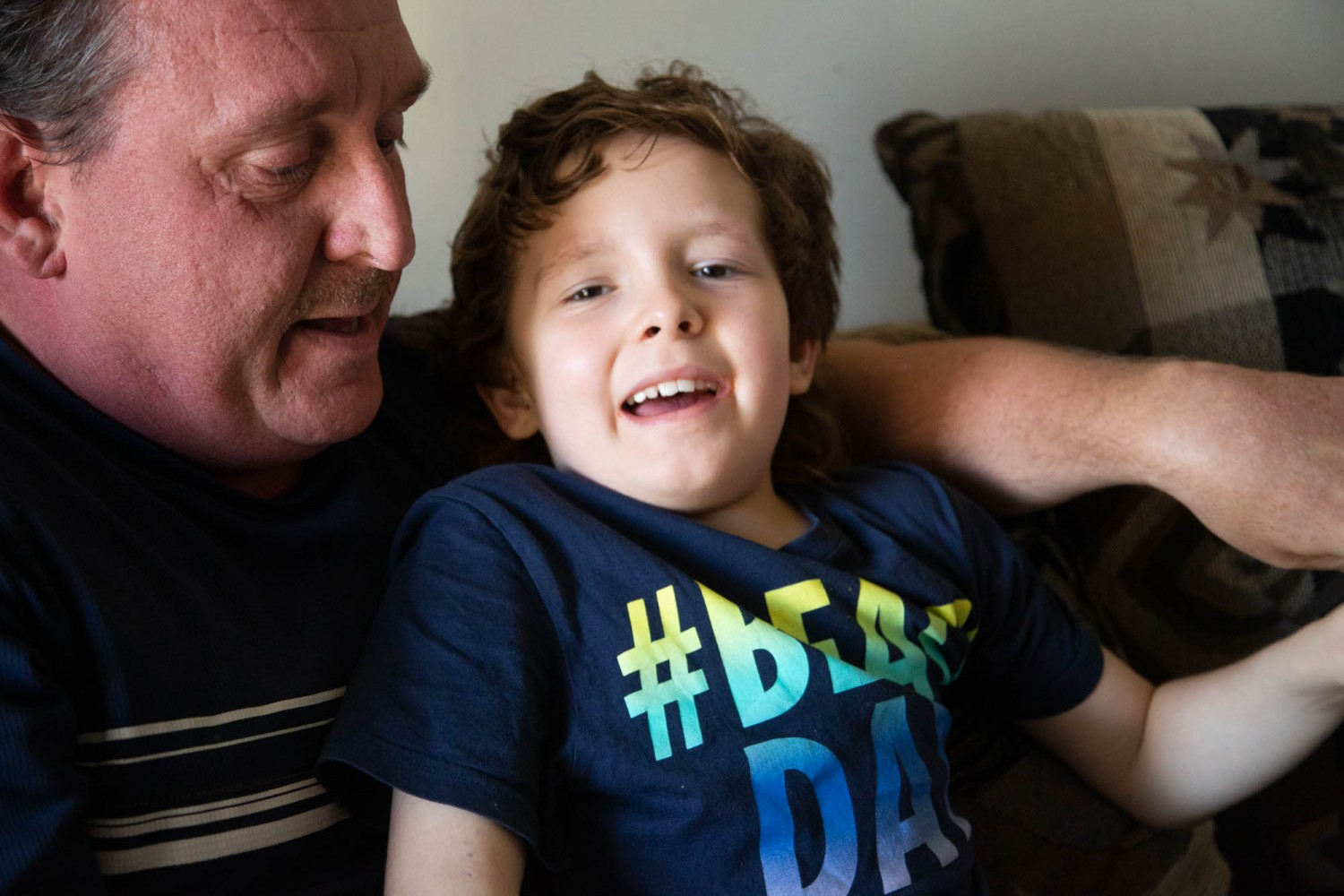 Single father of child with severe autism demands national strategy at Brampton campaign stops