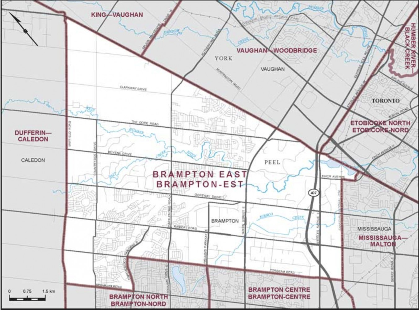 Tens of thousands of voters in Brampton East have not received voter information cards