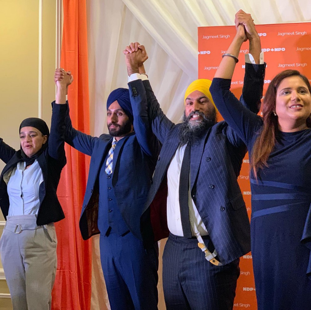 Three down, two to go: NDP finally announces federal candidates in Brampton