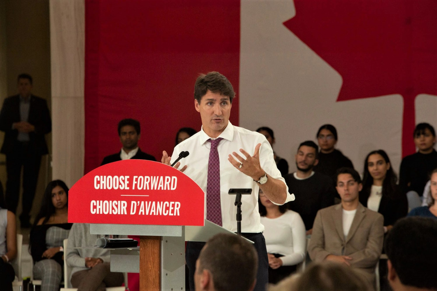 Trudeau offers no insight on local issues in Mississauga at UTM campaign event