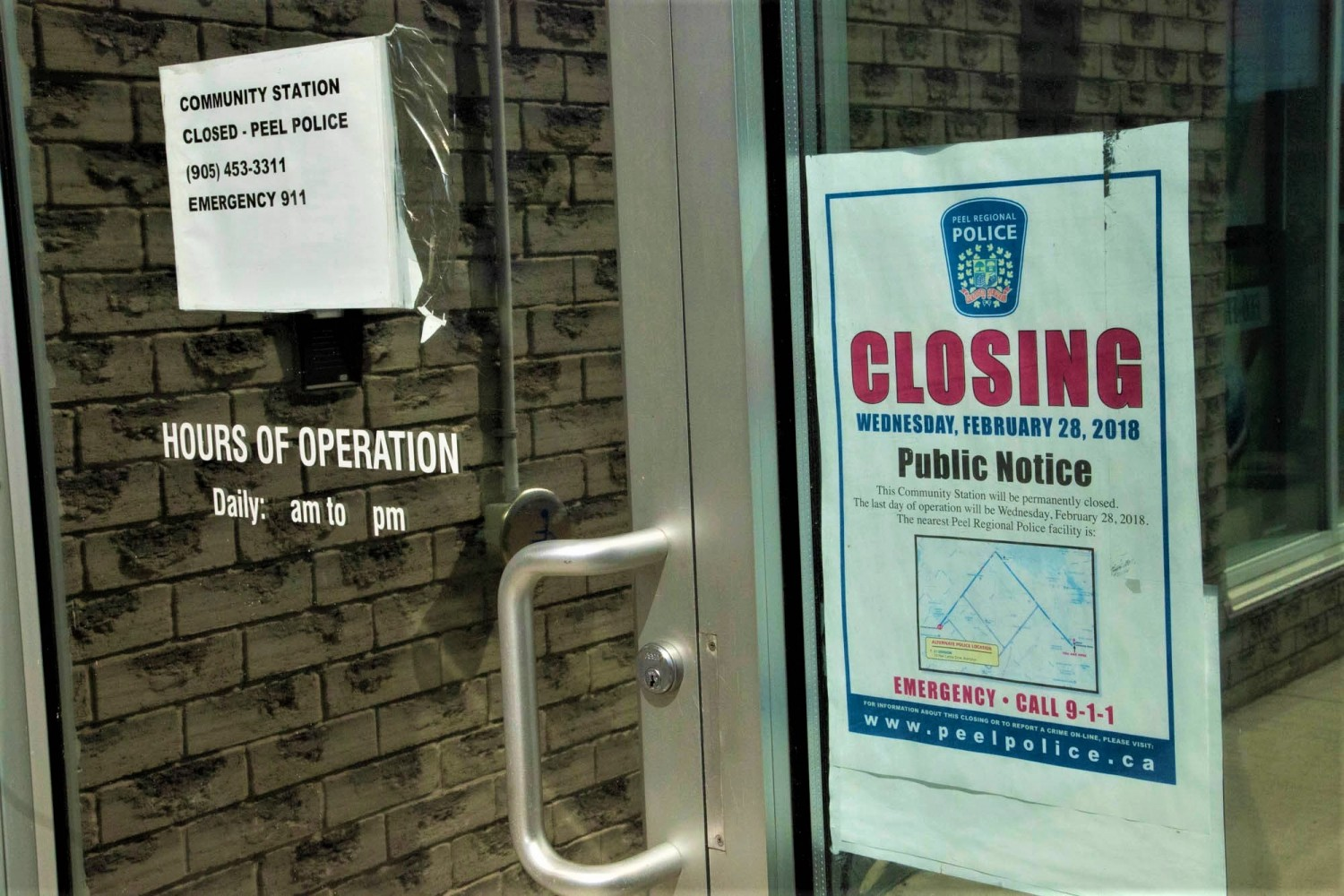 Update: Malton's police sub-station to reopen in the first quarter of 2020 as an interim measure