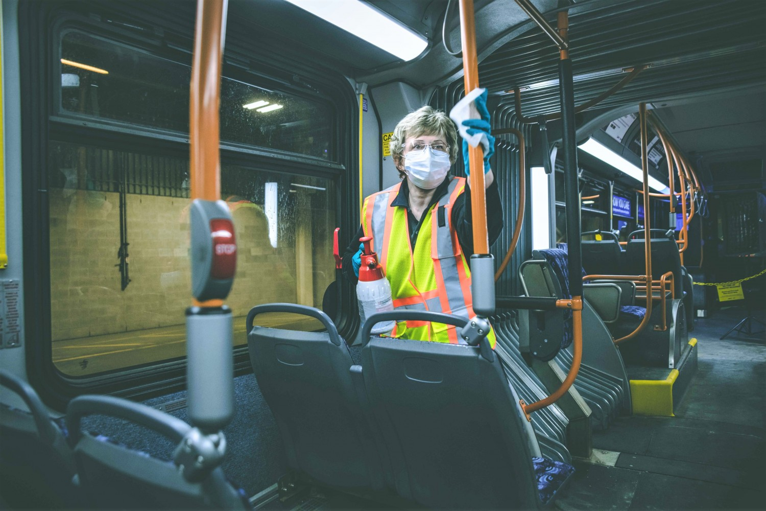 Why are bus drivers at Brampton Transit's Sandalwood Facility contracting COVID-19?