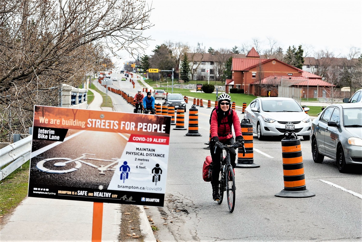 Will temporary bike lanes in Mississauga and Brampton outlive the pandemic?